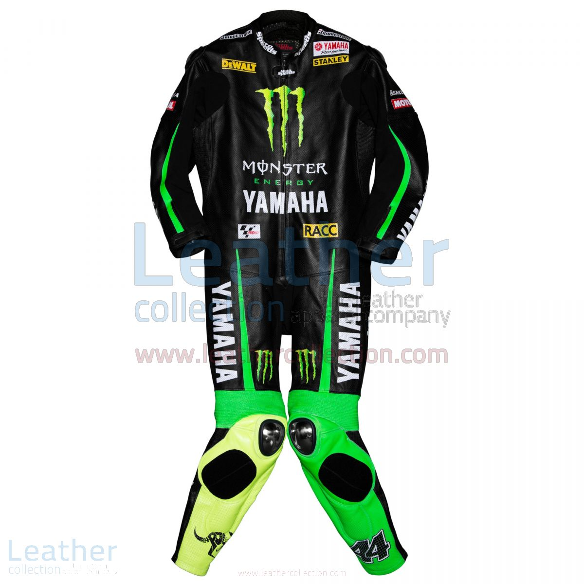 Pol Espargaro Yamaha Monster 2015 Leathers front view