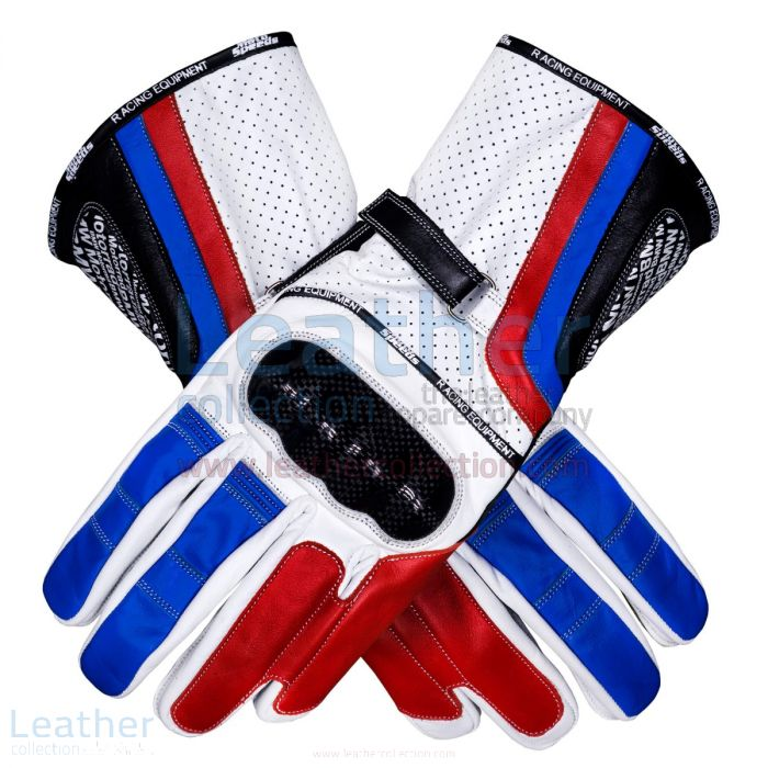 BMW Motorrad Leather Gloves upper view