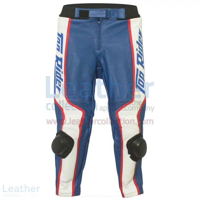 Freddie Spencer Honda Daytona 1985 Motorcycle Racing Pant front view