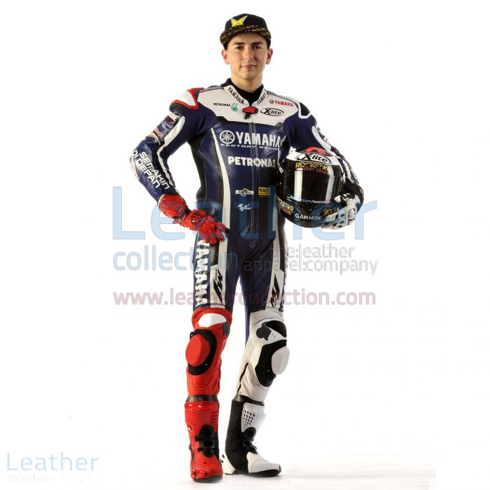 Jorge Lorenzo 2011 MotoGP Race Leather Suit right view