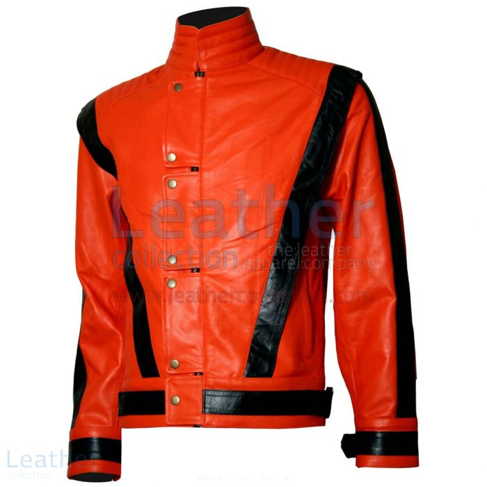 Michael Jackson Thriller Leather Jacket front view