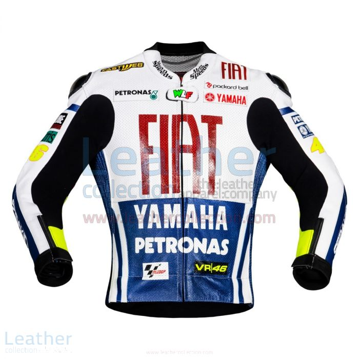 Valentino Rossi Fiat Yamaha MotoGP 2010 Race Jacket front view