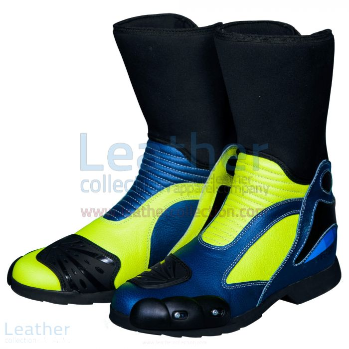 Valentino Rossi MotoGP 2016 & 2017 Race Boots front view