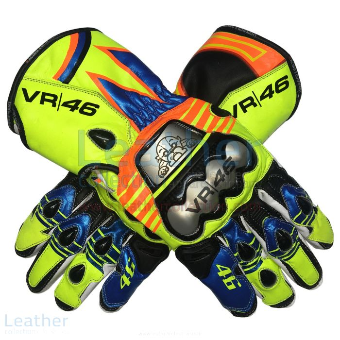 Valentino Rossi Replica Gloves 2013 upper view