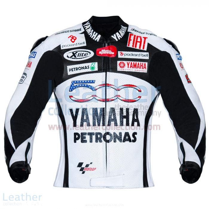 Yamaha Petronas 500 Leather Jacket front view