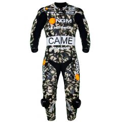 Colin Edwards Camo MotoGP 2014 Race Suit front view