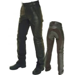 Comfort Motorcycle Pants front and back view