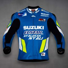 Joan Mir Suzuki MotoGP 2019 Racing Jacket front view