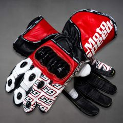 Jonathan Rea Moto Racing Gloves WSBk 2019 upper view