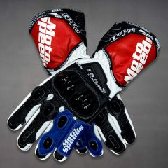 Leather GP Pro Gloves Biker upper view