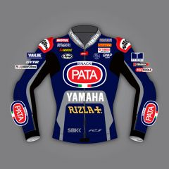 Michael van der Mark Pata Yamaha Jacket WSBK 2020 front view