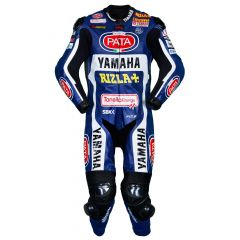 Michael van der Mark Yamaha SBK 2017 Race Leather Suit front view