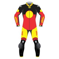 Pro GP Leathers front view