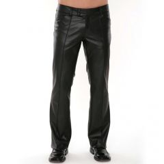 Smokin Hot Mens Leather Pants Front View