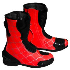 Spiderman Motorbike Racing Boots right view