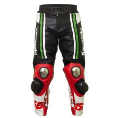Tom Sykes Kawasaki 2015 SBK Leather Pants front view
