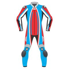 Track Leather Race Suit front view