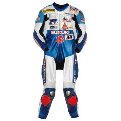 Vincent Philippe Suzuki 2008 Leathers front view
