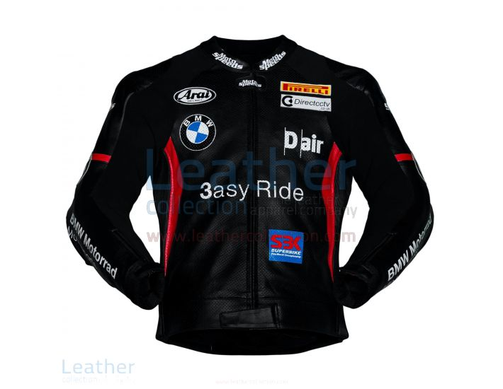 Purchase Now Leon Haslam BMW Motorcycle Jacket Black for