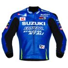 Andrea Iannone Suzuki MotoGP 2017 Leather Jacket front
