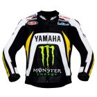Ben Spies Yamaha Monster 2010 Leather jacket front view
