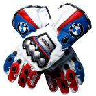 BMW Leather Motorcycle Gloves upper view