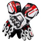 Ducati Corse Leather Motorcycle Ducati Gloves upper view