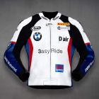 Leon Haslam BMW Motorcycle Jacket front view