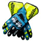 Rizla 2013 Motorbike Leather Suzuki Gloves upper view