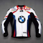 Tom Sykes BMW Motorrad WSBK 2019 Leather Jacket front view