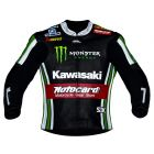 Tom Sykes Kawasaki 2015 SBK Leather Jacket front view