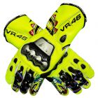 Valentino Rossi 2010 Motorcycle Gloves upper view