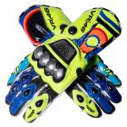 Valentino Rossi 2016 MotoGP Race Gloves upper view
